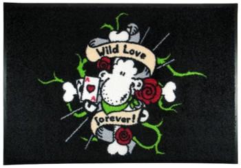 Waschbare Komfortmatte Sheepworld Wild Love