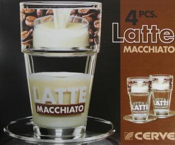 Latte Macchiato Gläser 2er-Set