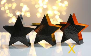 Leuchter Stern Trendy