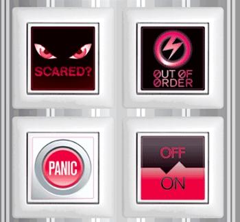 Lichtschalter-Aufkleber Signs