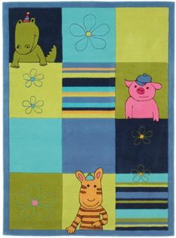 Kinderteppich Lifestyle blau 120x180