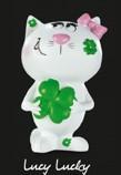 Katzen-Figur Lucy Lucky