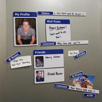 Fridgebook Kühlschrankmagnete
