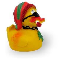Quietscheente Rasta Duck