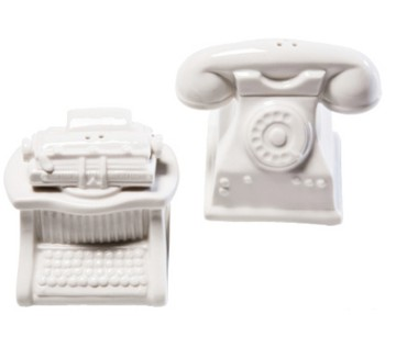 Salz & Pfefferstreuer Office white