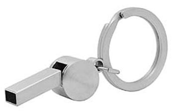 Schlüsselanhänger Whistle