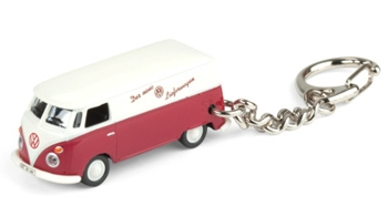 SchlüsselanhängerVW-Bus Samba rot