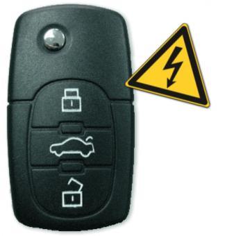 Shocking Car - Schlüsselanhänger