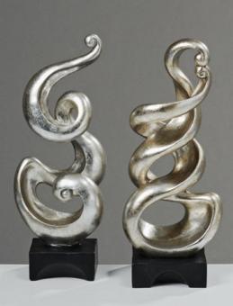 Deko-Skulptur Curly