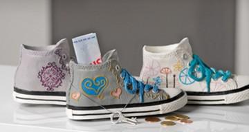 Spardose Funky Shoe