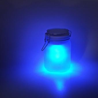 Moon Jar - Solarleuchte im Glas