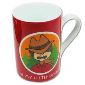 Henkeltasse Little Cowboy