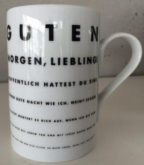 Tasse Guten Morgen, Liebling!