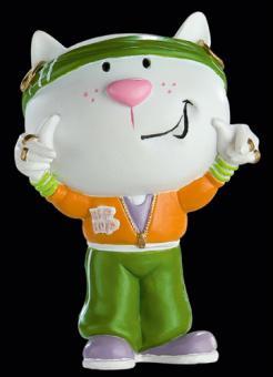 Katzen-Figur Vicky V.