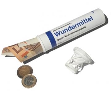 Geld- und Geschenkröhrchen Wundermittel