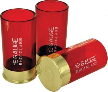 Shotglasses 12 Gauge; 4er-Set