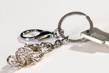 Schlüsselanhänger Seepferdchen