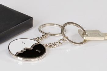 Schlüsselanhänger Kiss 2tlg.