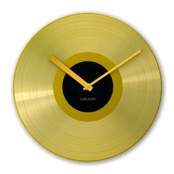 Wanduhr Golden Record