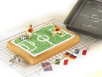 Backform Fußballfeld