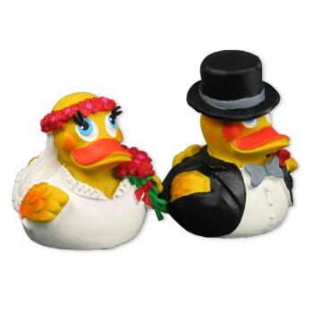 Badeenten Braut & Bräutigam