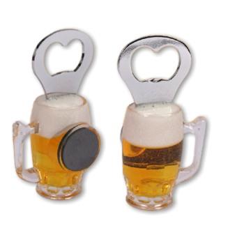 Flaschenöffner Bierglas
