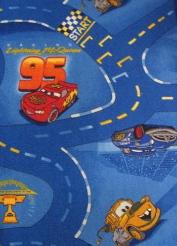 Kinderteppich Disney Cars blau
