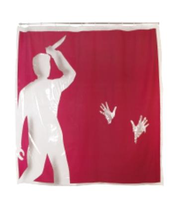 Tolle geschenke duschvorhang psycho geschenke online for Coole duschvorha nge
