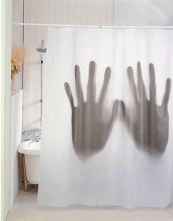 Duschvorhang Hands