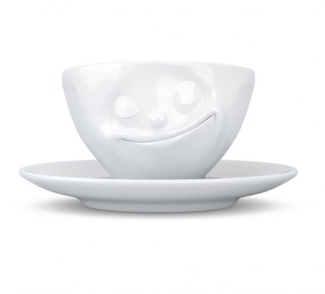 Espressotasse Glücklich
