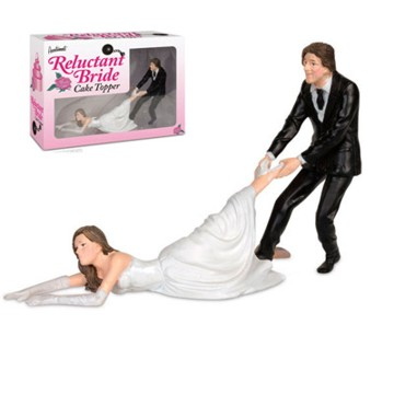 Torten-Figur Flüchtende Braut