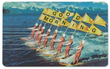 Frühstücksbrettchen Good Morning Wasserski