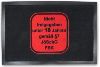 Fussmatte FSK 18