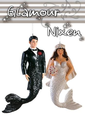 Glamour Nixen Hochzeitspaar Lilly & David 2er-Set