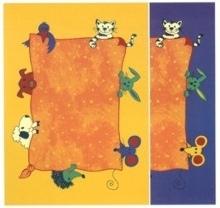Kinderteppich Tierwelt 133x180 oder 140x200