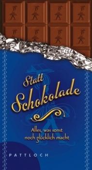 Geschenkbuch Statt Schokolade