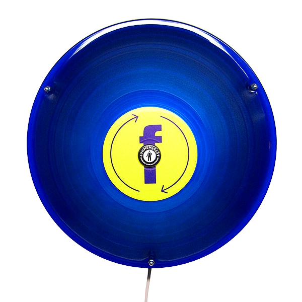Wandleuchte Leonora SX blau