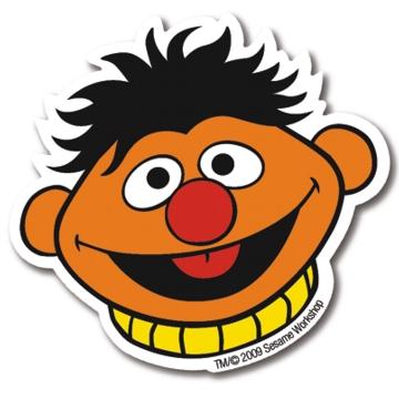 Magnet Sesamstraße Ernie