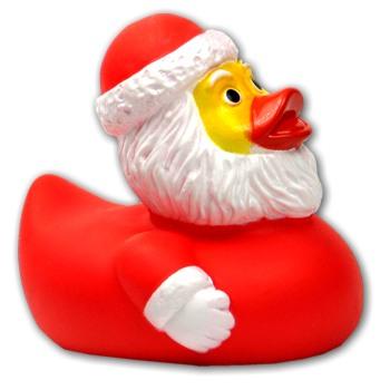 Badeente Santa