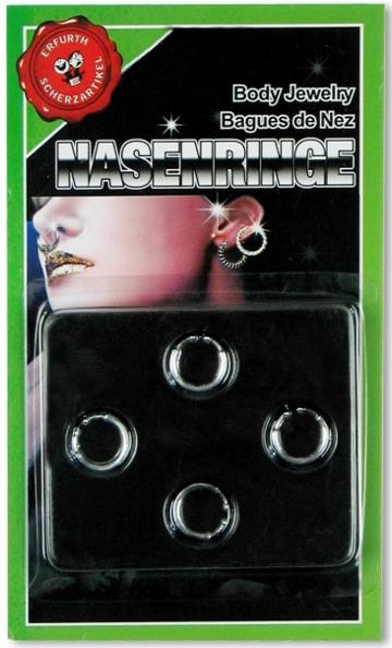 Nasenringe-Attrappe