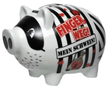 Sparschwein Finger weg!