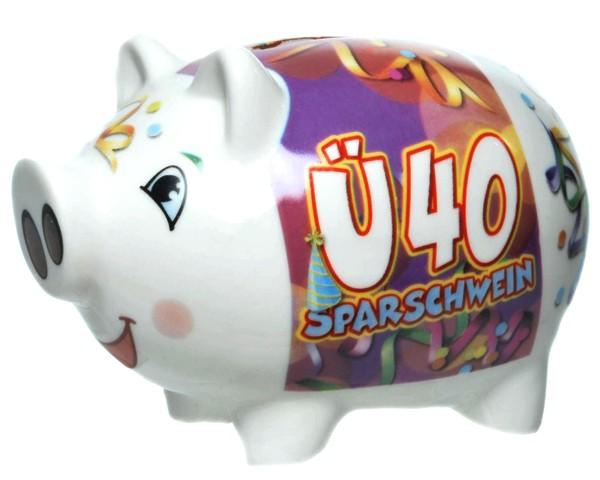 Sparschwein Ü40