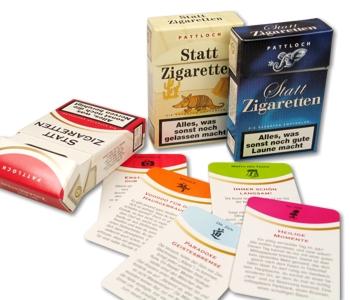 Geschenkbox Statt Zigaretten