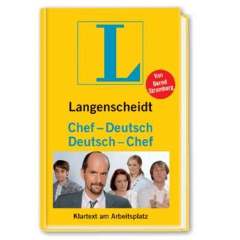 tolle geschenke langenscheidt chef deutsch deutsch chef. Black Bedroom Furniture Sets. Home Design Ideas