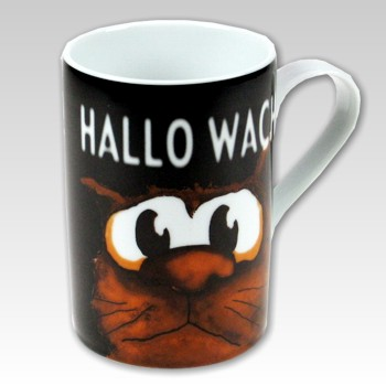Kaffeetasse Hallo Wach!
