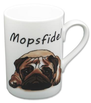 Tasse Mopsfidel
