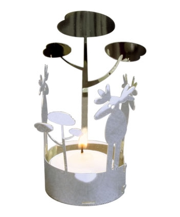 Teelichthalter Elch