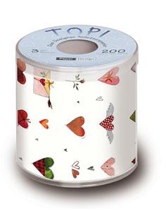 Toilettenpapier Love Collection
