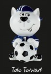 Katzen-Figur Toto Torwart