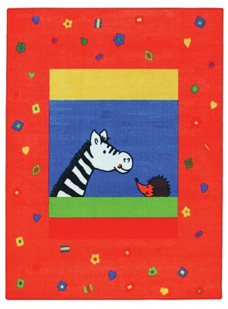 Kinderteppich Holiday Zebra 133x200